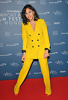 Rhianne Barreto at the Newport Beach Film Festival UK Honours, The Langham Hotel, Portland Place, London, England, UK, on Thursday 07th February 2019.<br /> CAP/CAN<br /> &copy;CAN/Capital Pictures