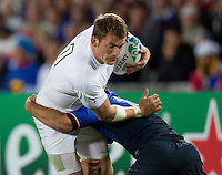 Rugby World Cup Auckland  England v France  Quarter Final 2 - 08/10/2011. MARK CUETO (England)  .Photo Frey Fotosports International/AMN Images