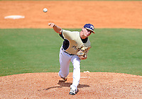 Florida International University right handed pitcher Eddy Pidermann (39) plays against Florida Atlantic University. FAU won the game 9-3 on March 18, 2012 at Miami, Florida.