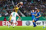 10.08.2019, wohninvest WESERSTADION, Bremen, GER, DFB-Pokal, 1. Runde, SV Atlas Delmenhorst vs SV Werder Bremen<br /> <br /> im Bild<br /> Florian Urbainski (SV Atlas Delmenhorst #01) mit Parade vor Yuya Osako (Werder Bremen #08), <br /> <br /> während DFB-Pokal Spiel zwischen SV Atlas Delmenhorst und SV Werder Bremen im wohninvest WESERSTADION, <br /> <br /> Foto © nordphoto / Ewert