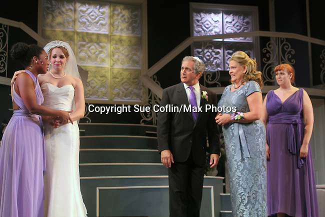 """Guiding Light's Kim Zimmer stars in """"It Shoulda Been You"""" - a new musical comedy - at the Gretna Theatre, Mt. Gretna, PA on July 30, 2016. (Photo by Sue Coflin/Max Photos)"""