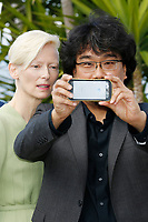 "Bong Joon-ho at the ""Okja"" photocall during the 70th Cannes Film Festival at the Palais des Festivals on May 19, 2017 in Cannes, France. Credit: John Rasimus /MediaPunch ***FRANCE, SWEDEN, NORWAY, DENARK, FINLAND, USA, CZECH REPUBLIC, SOUTH AMERICA ONLY***"