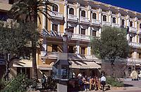 Spanien, Balearen, Ibiza, Hotel Montesol auf dem Passeig Vara de Rey in Eivissa