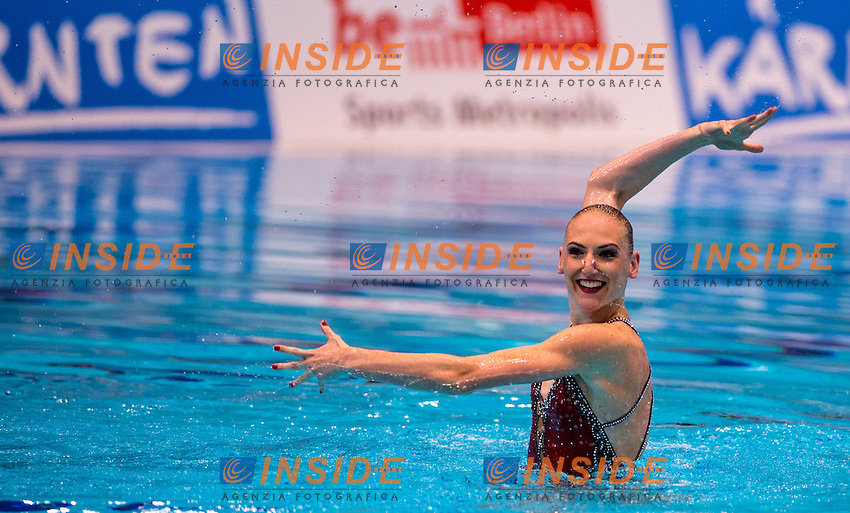 ROMASHINA Svetlana  RUS RUSSIA <br /> SOLO preliminary round<br /> 32nd LEN European Championships Swimming, Diving, Synchro, Open Water<br /> Berlin, Germany 2014  Aug.13 th - Aug. 24 th<br /> Day01- Aug. 12<br /> Photo D.Montanoa/deepbluemedia/Insidefoto