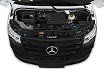 Car stock 2019 Mercedes Benz Sprinter-Crew-Van Base 4 Door Combi engine high angle detail view