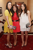"NO REPRO FEE. 17/1/2010. The Field opening night. Laura, Anne and Lainey Keane are pictured at the Olympia Theatre for the opening night of John B Keanes 'The Field"" Picture James Horan/Collins"