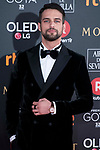 Jesus Castro attends red carpet of Goya Cinema Awards 2018 at Madrid Marriott Auditorium in Madrid , Spain. February 03, 2018. (ALTERPHOTOS/Borja B.Hojas)