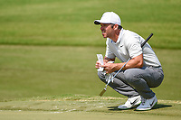 Paul Casey (GBR) looks over his putt on 8 during round 3 of the WGC FedEx St. Jude Invitational, TPC Southwind, Memphis, Tennessee, USA. 7/27/2019.<br /> Picture Ken Murray / Golffile.ie<br /> <br /> All photo usage must carry mandatory copyright credit (© Golffile | Ken Murray)