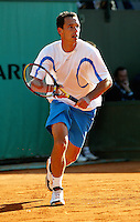 20040524, France, Paris, Tennis, Roland Garros, Llodra
