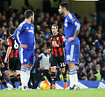 Bournemouth's Glenn Murray celebrates scoring his sides opening goal<br /> <br /> Barclays Premier League - Chelsea v AFC Bournemouth - Stamford Bridge - England - 5th December 2015 - Picture David Klein/Sportimage
