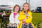 Amberley O'Mahony from Blenerville and Kaydence O'Mahony from Blenerville enjoying the Pet Farm at the KERRY PONY SOCIETY  36th Year Annual Show & Gymkhana At Blennerville, By kind permission of the Hurley Family