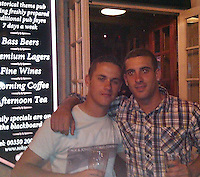 Pictured: Undated image of Matthew Boyd (L)<br /> Re: Trial at Cardiff Crown Court of Jake Vallely, 23 and Aaeron Evans, 22, charged with murder and causing actual bodily harm respectively in relation to the death of serviceman Matthew Boyd, 20, from the Royal Gibraltar Regiment who was discovered injured and unconscious in Lion Street, Brecon, at 1am on May 8, 2016. The two defendants were arrested shortly afterwards and charged four days later.