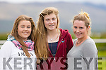 Rose Healy,Aoife Lynch and Annmarie Curtin, Tralee at   The North Kerry Harriers Point to Point in Ballybeggan Racecourse on Saturday
