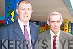 END OF AN ERA: Br. Fred Doherty (right) who is the last Christian Brother teaching in Kerry with principal, Denis Coleman at CBS Tralee on Monday.   Copyright Kerry's Eye 2008