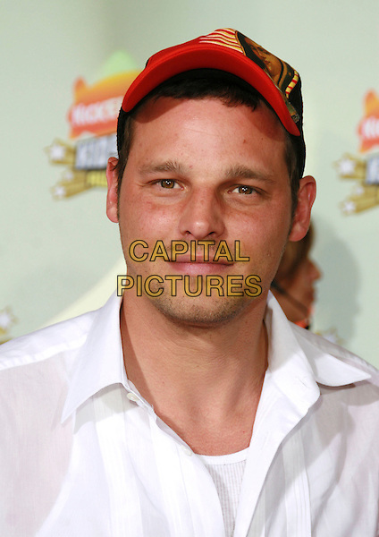 JUSTIN CHAMBERS.20th Annual Nickelodeon Kids' Choice Awards held at UCLA's Pauley Pavilion, Westwood, California, USA..March 31s, 2007.headshot portrait baseball cap hat .CAP/ADM/CH.©Charles Harris/AdMedia/Capital Pictures