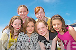 Posing for the camera at the opening of ballybunion Leisure Centre on Friday were Kitty Nolan, Michaela O'Connor, Ciara Walsh, Sinead Breen, Norma Houlihan and Orla Holly..   Copyright Kerry's Eye 2008