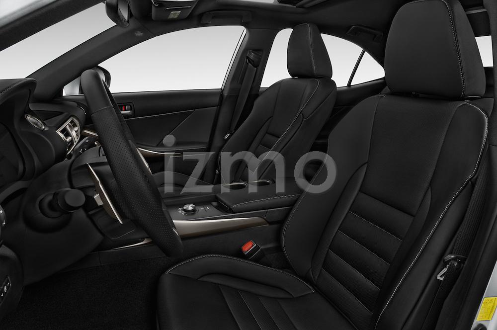 Front seat view of a 2015 Lexus LS 350 F Sport 4 Door Sedan Front Seat car photos