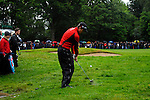 Justin Rose chips out of the rough on the 15th hole during the final round of the BMW PGA Championship at Wentworth Club, Surrey, England 27th May 2007 (Photo by Eoin Clarke/NEWSFILE)