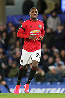 Manchester United recent signing, Odion Ighalo during Chelsea vs Manchester United, Premier League Football at Stamford Bridge on 17th February 2020