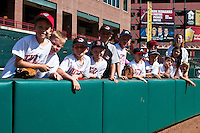 AT&T Bricktown Ballpark field trip day April 14th, 2010; MiLB action, Round Rock Express vs Oklahoma City Redhawks at AT&T Bricktown Ballpark in Oklahoma City,  Oklahoma