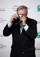 Il regista polacco Krzystof Zanussi posa durante un photocall per la presentazione del suo film &quot;Eter&quot; al Festival Internazionale del Film di Roma, 19 ottobre 2018.<br /> Polish director Krzystof Zanussi poses during the photocall of his movie &quot;Eter&quot; during the international Rome Film Festival at Rome's Auditorium, on October 19, 2018.<br /> UPDATE IMAGES PRESS/Isabella Bonotto