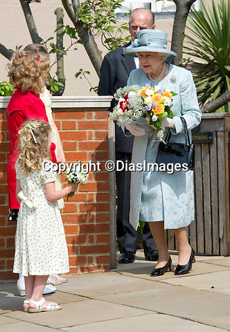 """QUEEN.Members of the Royal Family attended Easter Service at St. George's Chapel, Windsor Castle, Windsor_24/04/2011.Mandatory Photo Credit: ©Dias/DIASIMAGES.**ALL FEES PAYABLE TO: """"NEWSPIX INTERNATIONAL""""**..PHOTO CREDIT MANDATORY!!: DIASIMAGES(Failure to credit will incur a surcharge of 100% of reproduction fees)..IMMEDIATE CONFIRMATION OF USAGE REQUIRED:.DiasImages, 31a Chinnery Hill, Bishop's Stortford, ENGLAND CM23 3PS.Tel:+441279 324672  ; Fax: +441279656877.Mobile:  0777568 1153.e-mail: info@diasimages.com"""