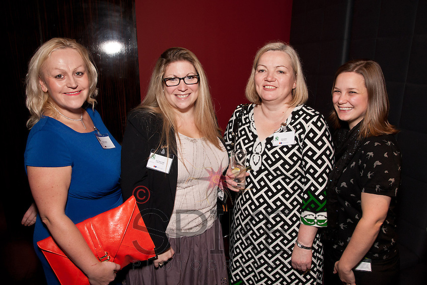 Pictured from left are Heather Stanford and Amy Hope-Smith  of Nelsons Solicitors, Jill Sanford of RSM Tenon and Roxanne Barker of Goodman Consultancy