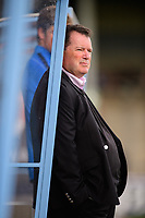 Scunthorpe United chairman Peter Swann during the pre-match warm-up<br /> <br /> Photographer Chris Vaughan/CameraSport<br /> <br /> The EFL Sky Bet League One - Scunthorpe United v Peterborough United - Saturday 13th October 2018 - Glanford Park - Scunthorpe<br /> <br /> World Copyright &copy; 2018 CameraSport. All rights reserved. 43 Linden Ave. Countesthorpe. Leicester. England. LE8 5PG - Tel: +44 (0) 116 277 4147 - admin@camerasport.com - www.camerasport.com