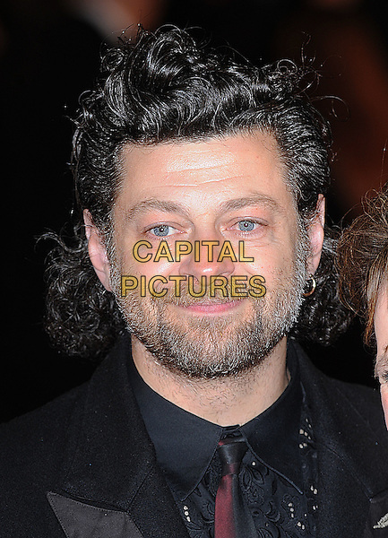 "ANDY SERKIS .attending The World Premiere of .""Frost/Nixon"" during The Times BFI 52nd London Film Festival, Odeon Leicester Square, London, England, UK,.15th October 2008.portrait headshot beard facial hair .CAP/BEL.©Tom Belcher/Capital Pictures"