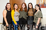 Farewell party for Michelle Boland, Liselton going to New Zealand enjoying a meal at La Scala's  Pictured l-r Deirdre McCarthy, Betty O'Connor, Michelle Boland, Katie O'Connell and Niamh Finucane