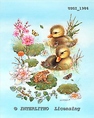 GIORDANO, CHRISTMAS ANIMALS, WEIHNACHTEN TIERE, NAVIDAD ANIMALES, paintings+++++,USGI1986,#XA#