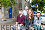"READY FOR THE STAGE: ""This is a Play"" with former members of St. John's Youth Theatre Darren McDonnell, Laura Keane and Jack McKenna with director Chris Fitzgerald, will take St John's Theatre Listowel on August 17th and 18th."