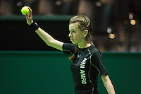 Rotterdam, The Netherlands, Februari 11, 2016,  ABNAMROWTT, Ball-Girl<br /> Photo: Tennisimages/Henk Koster
