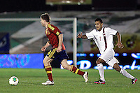 Spain's Illarramendi and Norway's Singh during an International sub21 match. March 21, 2013.(ALTERPHOTOS/Alconada) /NortePhoto