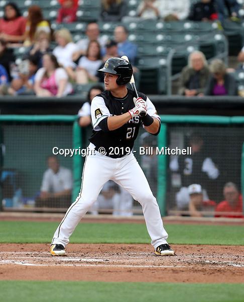 Matt Thaiss -2019 Salt Lake Bees (Bill Mitchell)