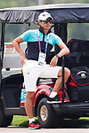 Hirokazu Suhara (JPN), <br /> AUGUST 23, 2018 - Golf : <br /> Women's Individual Round 1 <br /> at Pondok Indah Golf & Country Club <br /> during the 2018 Jakarta Palembang Asian Games <br /> in Jakarta, Indonesia. <br /> (Photo by Naoki Morita/AFLO SPORT)