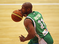 Kantrail Horton in action during the NBL Round 14 match between the Manawatu Jets  and Wellington Saints. Arena Manawatu, Palmerston North, New Zealand on Saturday 31 May 2008. Photo: Dave Lintott / lintottphoto.co.nz