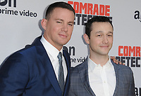 www.acepixs.com<br /> <br /> August 3 2017, LA<br /> <br /> (L-R) Channing Tatum and Joseph Gordon-Levitt arriving at the premiere of Amazon's 'Comrade Detective' at the ArcLight Hollywood on August 3, 2017 in Hollywood, California<br /> <br /> By Line: Peter West/ACE Pictures<br /> <br /> <br /> ACE Pictures Inc<br /> Tel: 6467670430<br /> Email: info@acepixs.com<br /> www.acepixs.com