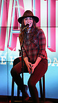 Sara Bareilles attends the Jason Mraz joins the cast of  'Waitress' Press Event on October 30, 2017 at You Tube Space in New York City.