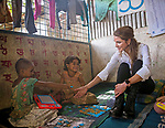 23.10.2017; Amman, Jordan: QUEEN RANIA<br />visited Kutupalong Refugee Camp and its surrounding in the Cox&rsquo;s Bazar region of Bangladesh, to meet with some of  Muslim Rohingyas who have fled Myanmar&rsquo;s Rakhine State.<br />In a statement she called for an &ldquo;effective, quick and generous&rdquo; response from the international community to alleviate the suffering of Myanmar&rsquo;s Muslim Rohingya minority.<br />Over 600,000 of the Rohingya minority have fled Myanmar since August, in what is now acknowledged as an ethnic cleansing of the Rohingya Muslims.<br />Mandatory Photo Credit: &copy;Royal Hashemite Court/NEWSPIX INTERNATIONAL<br /><br />IMMEDIATE CONFIRMATION OF USAGE REQUIRED:<br />Newspix International, 31 Chinnery Hill, Bishop's Stortford, ENGLAND CM23 3PS<br />Tel:+441279 324672  ; Fax: +441279656877<br />Mobile:  07775681153<br />e-mail: info@newspixinternational.co.uk<br />Usage Implies Acceptance of Our Terms &amp; Conditions<br />Please refer to usage terms. All Fees Payable To Newspix International