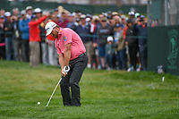 Graeme McDowell (NIR) chips on to 6 during round 2 of the 2019 US Open, Pebble Beach Golf Links, Monterrey, California, USA. 6/14/2019.<br /> Picture: Golffile | Ken Murray<br /> <br /> All photo usage must carry mandatory copyright credit (© Golffile | Ken Murray)
