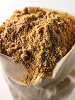 Ground Coriander powder - stock photos