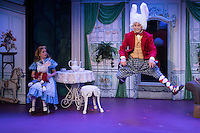 Disney's Alice in Wonderland presented by STAGES St. Louis at Westport Plaza playhouse in St. Louis, Missouri on June 14, 2016.