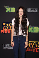 "Acacia Brinley<br /> at the premiere of ""Star Wars Rebels,"" AMC Century City, Century City, CA 09-27-14<br /> David Edwards/DailyCeleb.com 818-915-4440"
