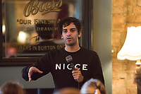 13th July 2019: Comedian Kai Samra performs his show 'Underclass' on day 1 of the 2019 Comedy Crate Festival in Northampton