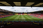 A general view of Vicarage Road Stadium home of Watford FC before the start of the premier league match at the Vicarage Road Stadium, Watford. Picture date 26th August 2017. Picture credit should read: Robin Parker/Sportimage