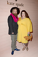 www.acepixs.com<br /> February 9, 2018  New York City<br /> <br /> Nick Holliday and Tess Holliday attending the Kate Spade presentation, New York Fashion Week, on February 9, 2018 in New York City.<br /> <br /> Credit: Kristin Callahan/ACE Pictures<br /> <br /> <br /> Tel: 646 769 0430<br /> Email: info@acepixs.com