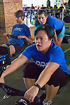 Rowing, rowers on rowing machines, Ergomania, Seattle, Pocock Rowing Foundation, Concept II, Northwest Indoor Rowing Championship, Magnuson Park,