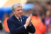 Crystal Palace manager Roy Hodgson during Crystal Palace vs Brighton & Hove Albion, Premier League Football at Selhurst Park on 14th April 2018