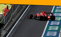 1st August 2020, Silverstone, Northampton, UK; FIA Formula One World Championship 2020, Grand Prix of Great Britain,  qualifying;  5 Sebastian Vettel GER, Scuderia Ferrari Mission Winnow,